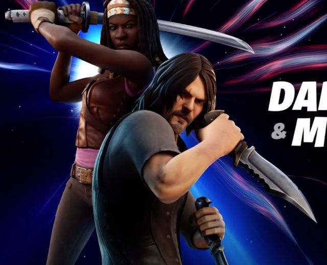 The Walking Dead Fortnite Daryl Dixon & Michonne Fortnite Skins