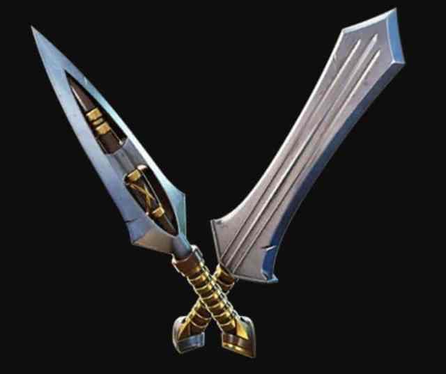 Vibranium Daggers pickaxe