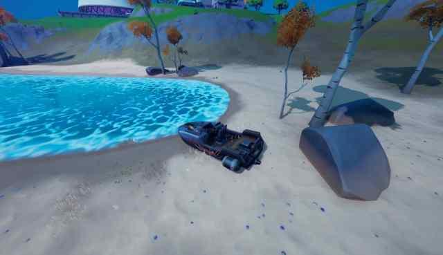 Fortnite Challenge Destroy Motorboats