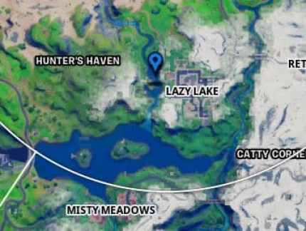 Fortnite Lazy Lake Island Location