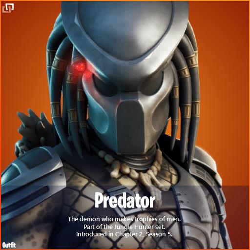 Fortnite Predator Skin Leaked