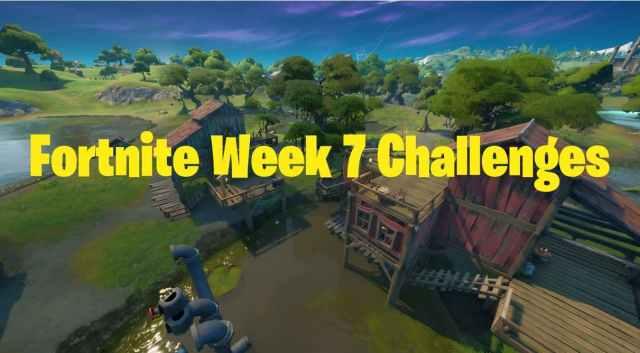 Fortnite Week 7 Challenges