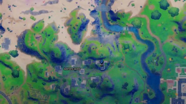 Visit Predator's Apartment Fortnite Map Location