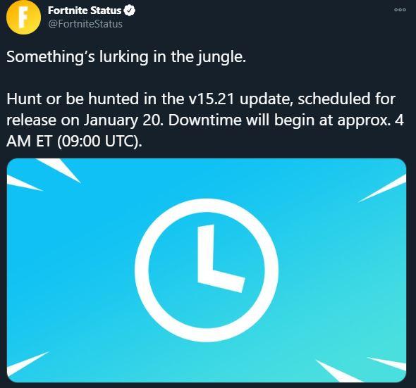 v15.21 Fortnite Update