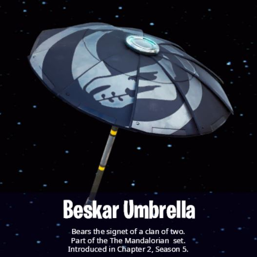 Beskar Umbrella Fortnite