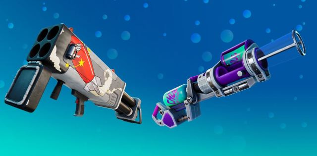 Fortnite Chug Cannon Burst Quad Launcher Exotic Weapons