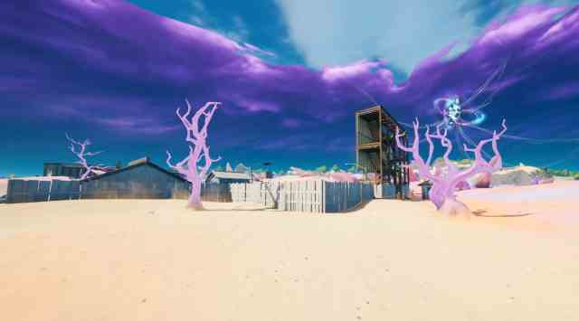 Fortnite Crystal Trees