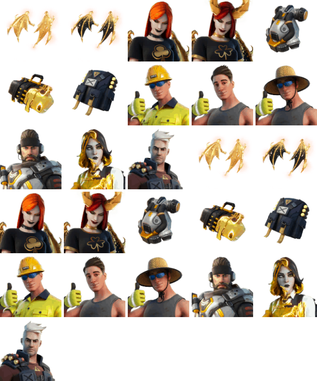 Fortnite v15.50 Leaked Variants