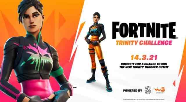 Trinity Trooper Fortnite Skin