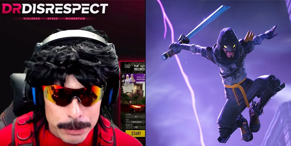 Dr Disrespect Finally Picks Between PUBG And Fortnite