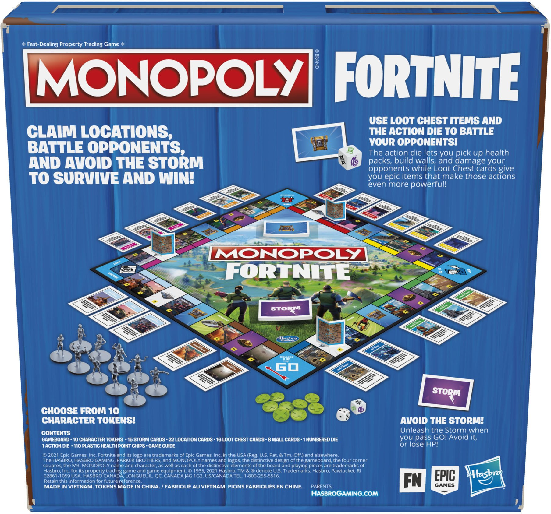 Fortnite reveals new Monopoly Board Game with early access to unreleased Items