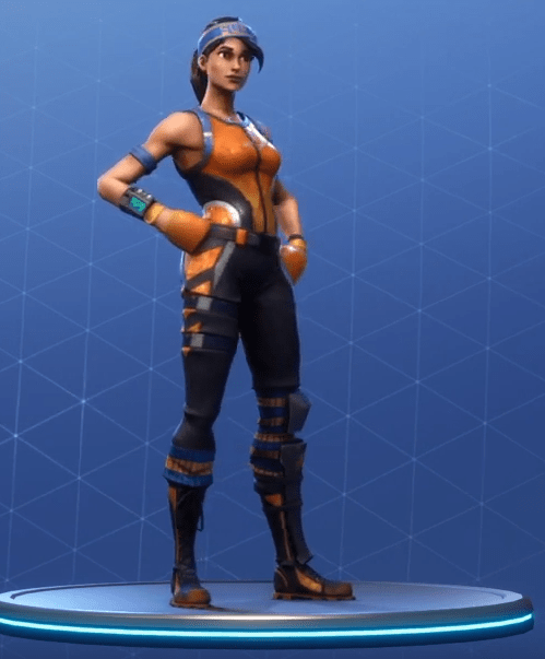 Fortnite Dazzle Skin Rare Outfit Fortnite Skins