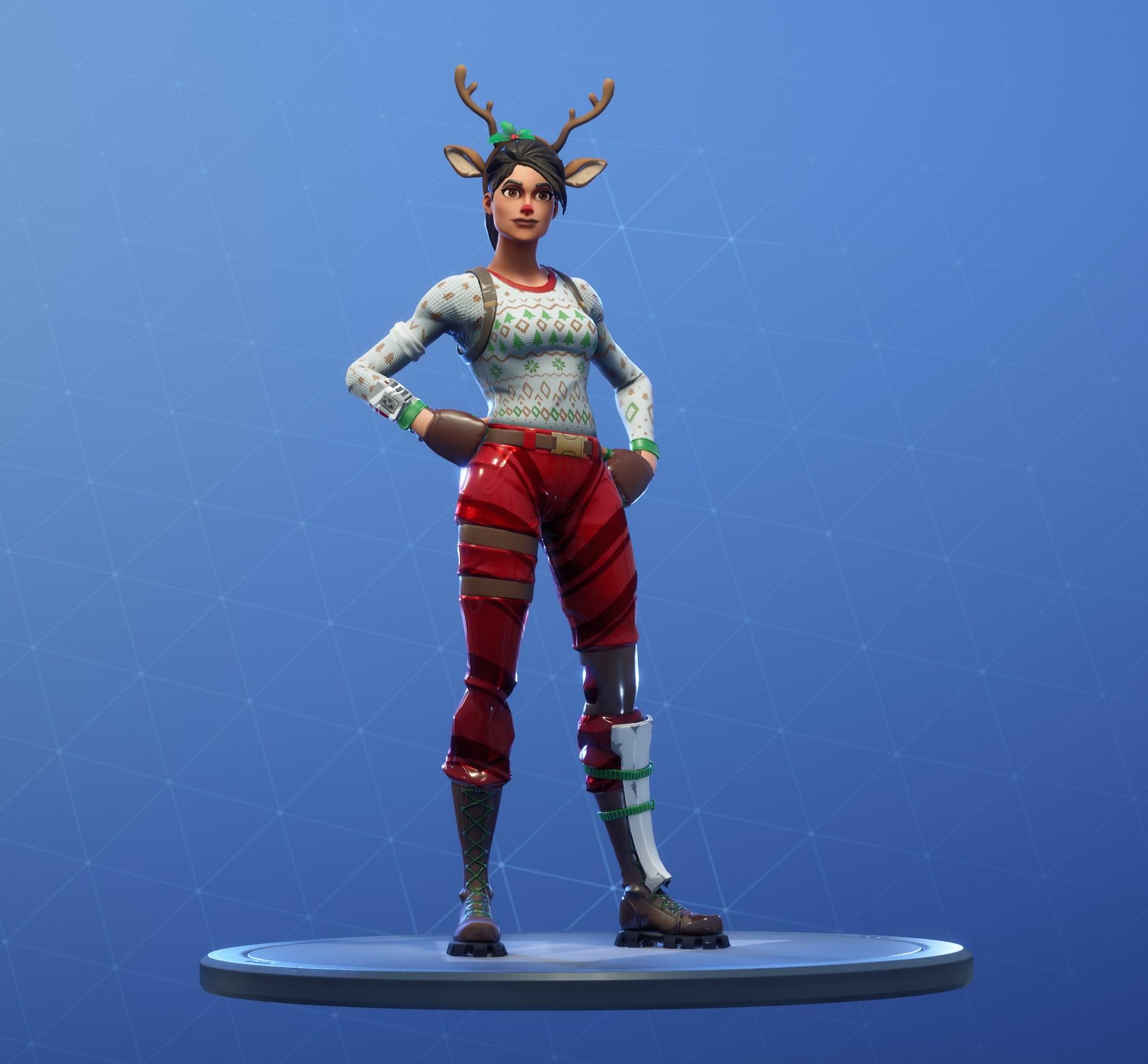Fortnite Red-Nosed Raider Skin