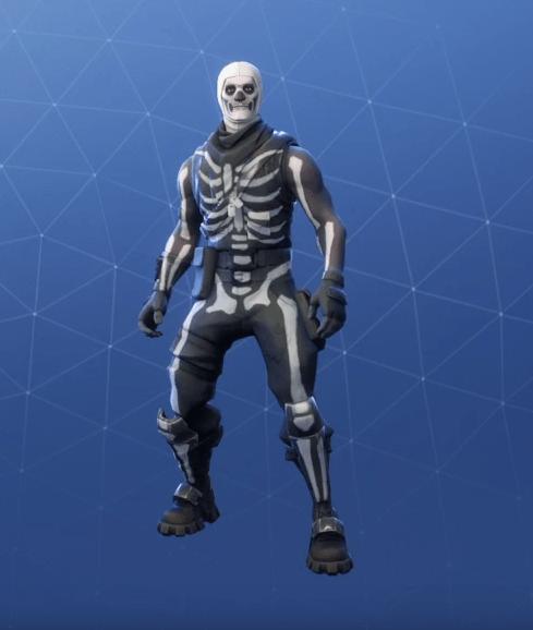 Fortnite Skull Trooper Skin Epic Outfit Fortnite Skins - skull trooper 2