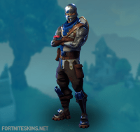 Blue Squire Skin