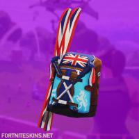 Mogul Ski Bag (GBR) Skin