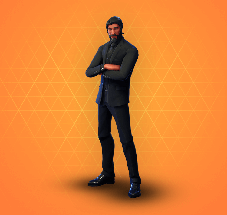 99398961a92 It's interesting that Epic made their own version of Wick called 'The  Reaper' before getting their hands on the licence for the real mccoy.