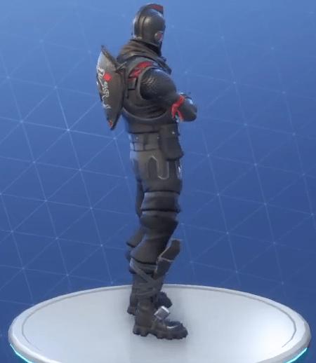Black Shield Back Bling Backpacks Fortnite Skins