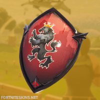 Red Shield Skin