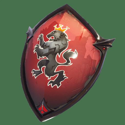 Red Shield Back Bling Backpacks Fortnite Skins