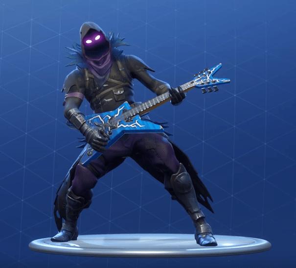 Fortnite Emotes On Guitar Fortnite Rock Out Emote Epic Dance Fortnite Skins