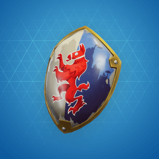 Royale Shield Back Bling