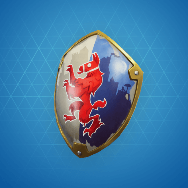 Squire Shield Back Bling