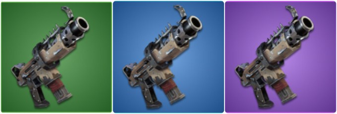for example the tactical smg only has 3 rarity types as you get more used to the game you will begin to identify each weapon s rarity class - fortnite tactical submachine gun