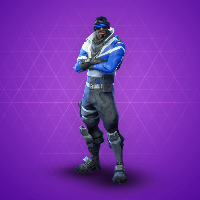 Blue Striker Skin