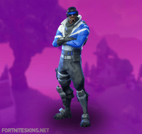 Blue Striker Skin