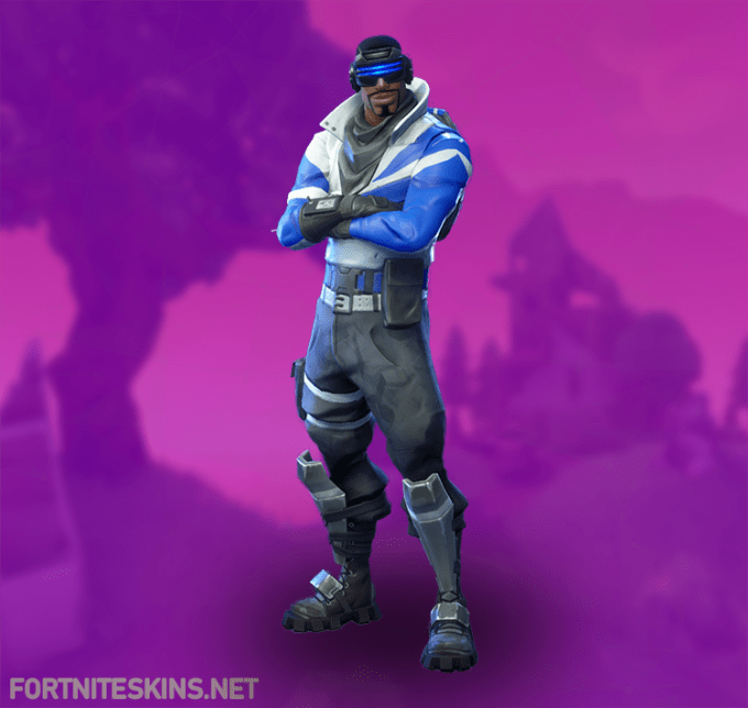 how to get blue outfit on fortnite