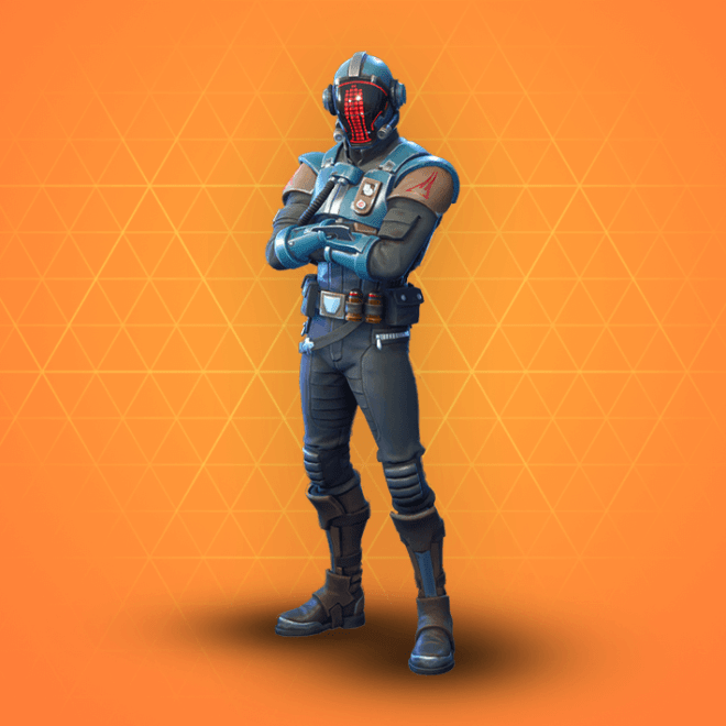 The Visitor Skin