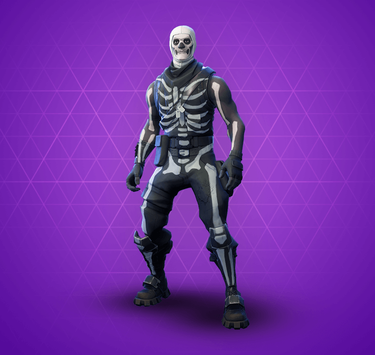 Fortnite Skull Trooper Skin | Epic Outfit - Fortnite Skins