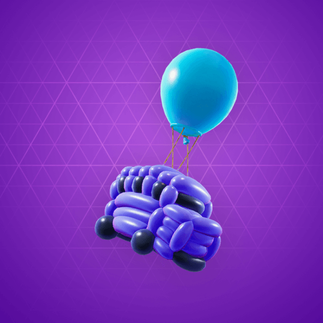 Battle Balloon Back Bling
