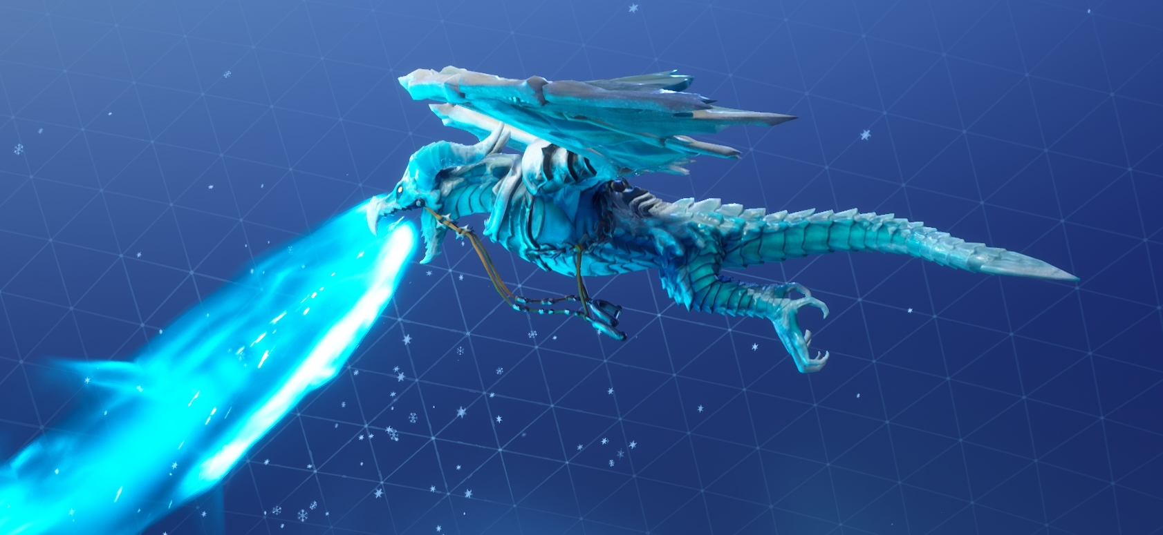 frostwing skin 3 - fortnite ice dragon glider