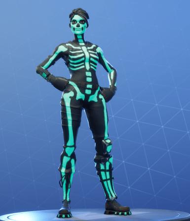 skull ranger green glow style