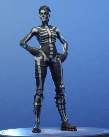 skull ranger white style