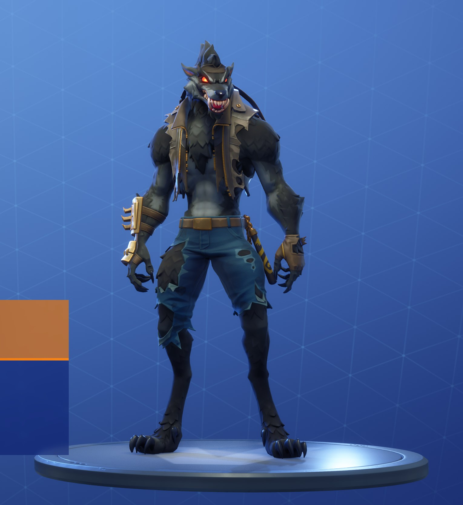 Dire Stage 5 Black Werewolf