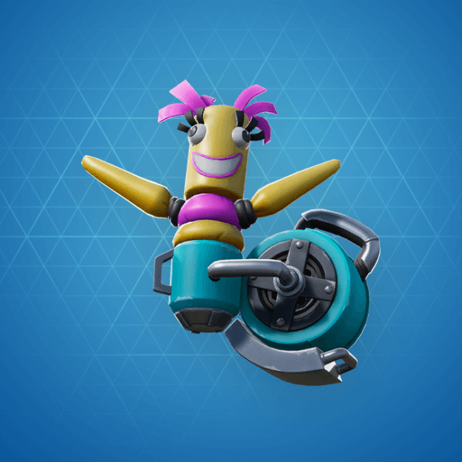 Twistie Inflator Back Bling