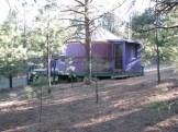 purple yurt
