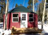20 foot yurt