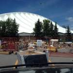 sm Fort Sands Construction Industrial Manufacturing saddledome outside