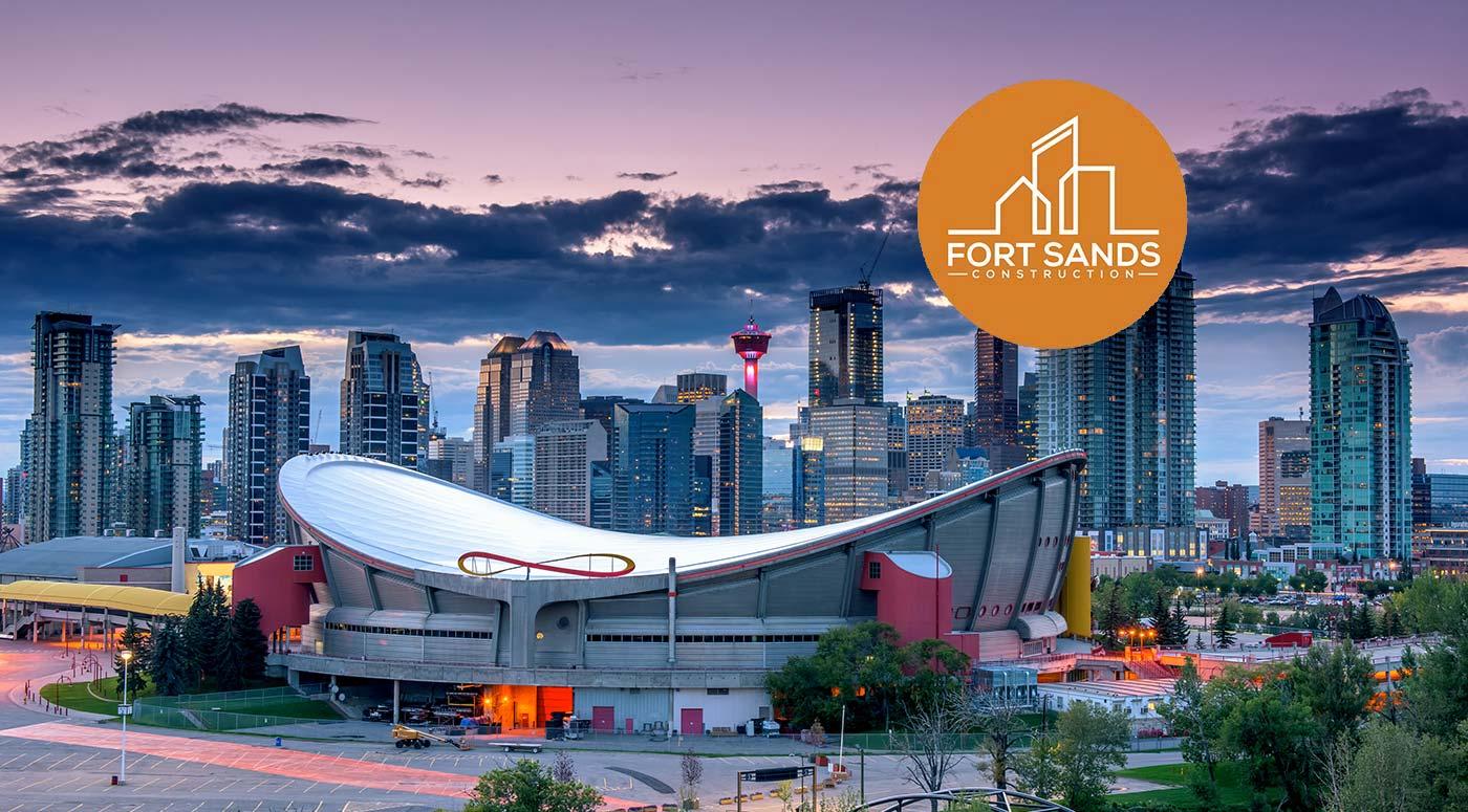 Calgary Skyline Fort Sands