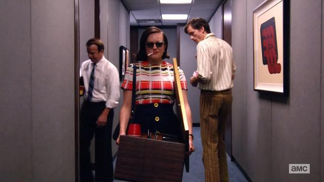 """Peggy (Elizabeth Moss) kam zum Schluss ganz groß raus, """"Mad Men"""" war von Anfang an perfekt. Foto: Lionsgate TV"""