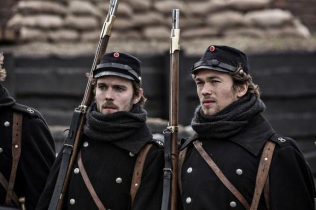 Zwei Brüder, gemeinsam im Krieg: Laust und Peter Jensen; Foto: DR/arte