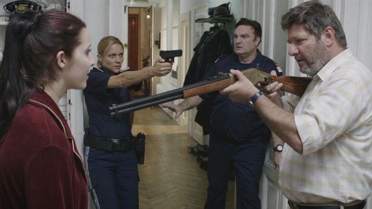Im Bild glücklicherweise nicht ersichtlich: die Dialge. Foto: CopStories DVD, Gebhardt Productions