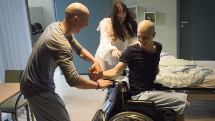 Tanzen verbindet: Jonas (Damian Hardung), Emma (Luise Befort) und Leo (Tim Oliver Schultz); Fotos: VOX/Martin Rottenkolber