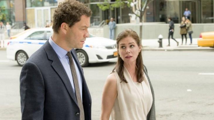 Expartner mit Chemie: Noah (Dominic West) und Helen (Maura Tierney); Foto: Showtime