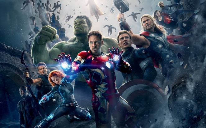 Die Marvel-Helden vereint im Kampf gegen Ultron. Foto: Marvel