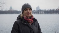 Annette Hess am Maschsee